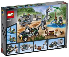Lego 75935 Jurassic World Confrontatie met Baryonyx: de Schattenjacht