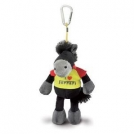 Ferrari Nici paardje bean bag zwart - Nici