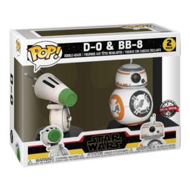 Funko Pop D-O & BB-8