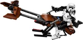 Lego 75532 Scout Trooper and Speeder Bike