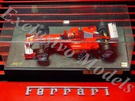 Ferrari F2000 M. Schumacher Champion Edition - Hotwheels 1:18