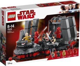 Lego 75216 Star Wars Snoke's Troonzaal