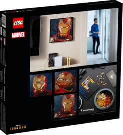 Lego 31199 Iron Man - Marvel Studios - Lego Art