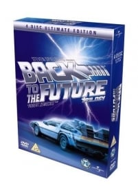 Back to the Future Trilogy - 4 DVD Box