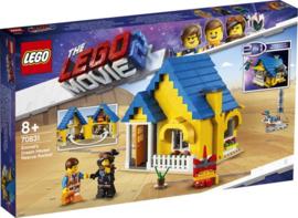 Lego 70831 - Emmet's Droomhuis / Reddingsraket - Lego The Movie 2