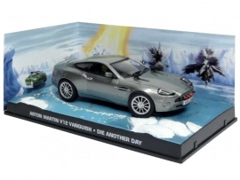 Aston Martin V12 Vanquish James Bond 007 1:43