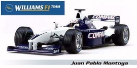 Williams BMW FW23 J.P. Montoya - Hotwheels 1:43