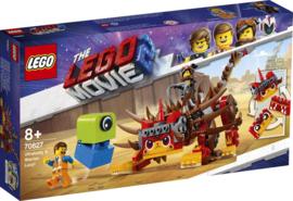 Lego 70827 - Ultrakatty en Strijder Lucy! - Lego The Movie 2