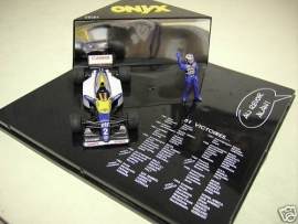 Williams Renault FW 15 Alain Prost 51 Wins - Onyx 1:43