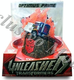 Unleashed Optimus Prime - Double sided Sculpture