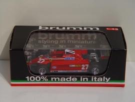 Ferrari 126 CK Turbo GP Monte Carlo 1981 G. Villeneuve - Brumm