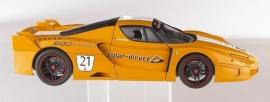 Ferrari FXX Team Solar - Hotwheels ELITE 1:18