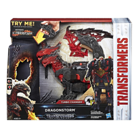 Transformers The Last Knight - Dragonstorm - 1 Step Turbo Changer