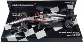 McLaren Honda MP4-30 F. Alonso Chinese GP 2015 - Minichamps 1:43