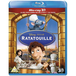 Ratatouille - Blu Ray 3D