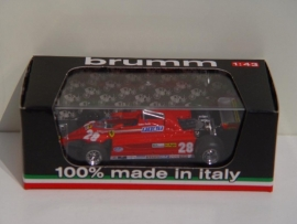 Ferrari 126 C2 GP Monte Carlo 1981 D. Pironi - Brumm