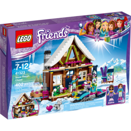 Lego 41323 - Friends Wintersport Chalet - Lego Friends