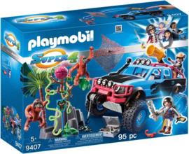 Playmobil 9407 - Monstertruck met Alex en Briue Brock - Super 4