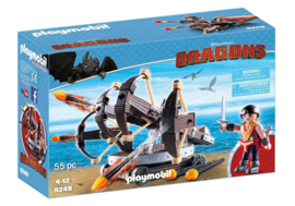 Playmobil 9249 - Eret met viervoudige ballista - Dragons