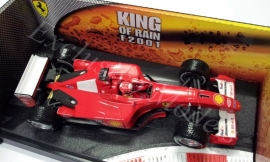 Ferrari F2001 M. Schumacher KING OF RAIN - Hotwheels