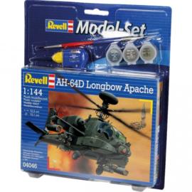 AH-64D Longbow Apache bouwdoos set - Revell 1:144