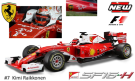 Ferrari SF16  F1 2016 Ray-Ban version Kimi Raikkonen Bburago 1:18