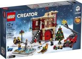 Lego 10263 Brandweerkazerne in Winterdorp - Lego Creator Expert