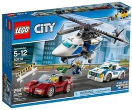 Lego 60138 Snelle Achtervolging