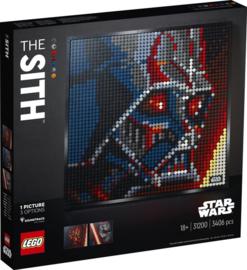 Lego 31200 The Sith - Star Wars - Lego Art