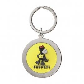 Ferrari Nici sleutelhanger (geel) - Nici
