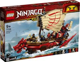 LEGO 71705 Destiny's Bounty - Lego Ninjago Legacy