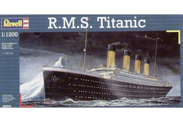 R.M.S. Titanic bouwdoos - Revell 1:1200