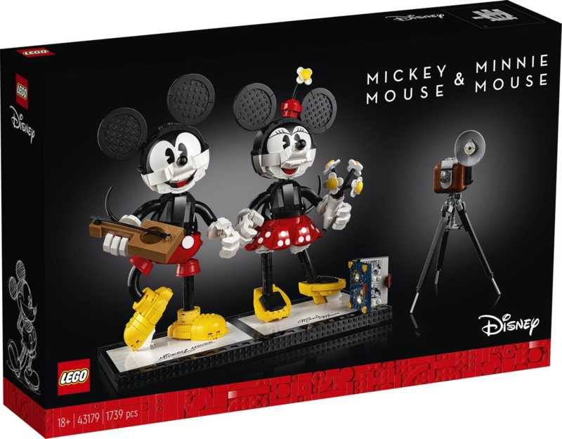 Lego 43179 Mickey Mouse en Minnie Mouse Personages - Lego Disney