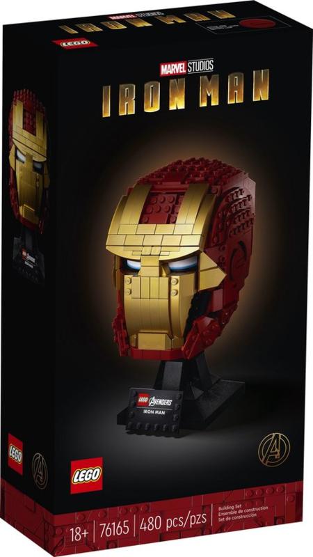 Lego 76165 Marvel Avengers Iron Man helm