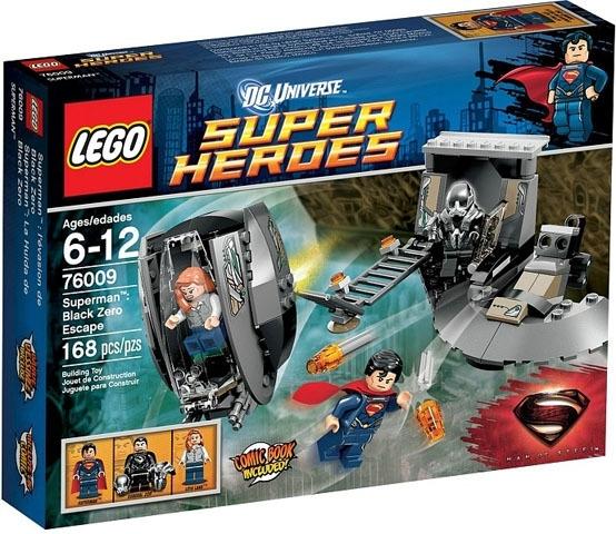 Lego 76009 Superman Black Zero Escape