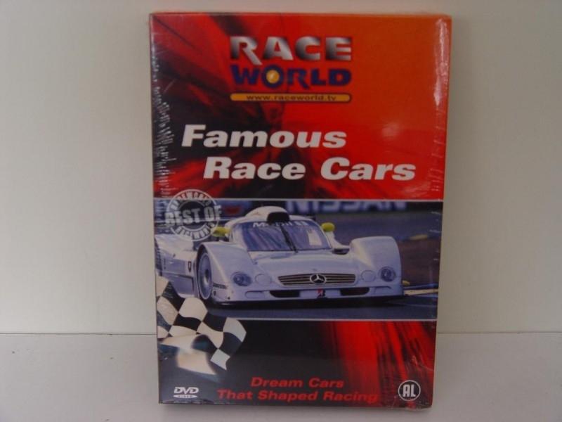 RACE WORLD - Famous Race Cars - DVD