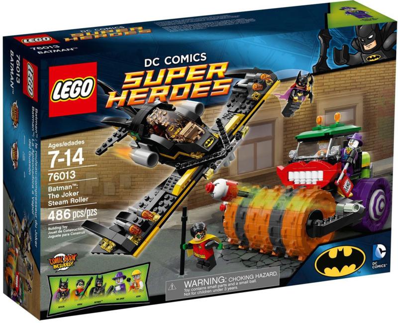 Lego 76013 Batman - The Joker Stoomwals