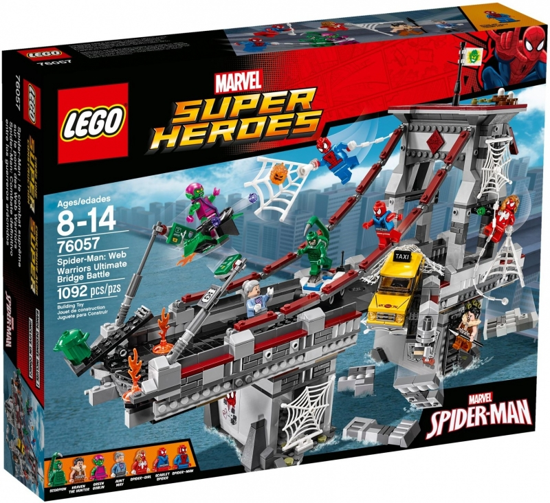 Lego 76057 Spider-Man Web Warriors Ultiem Brugduel