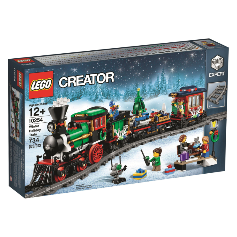 Lego 10254 Winter Holiday Train - Lego Creator Expert