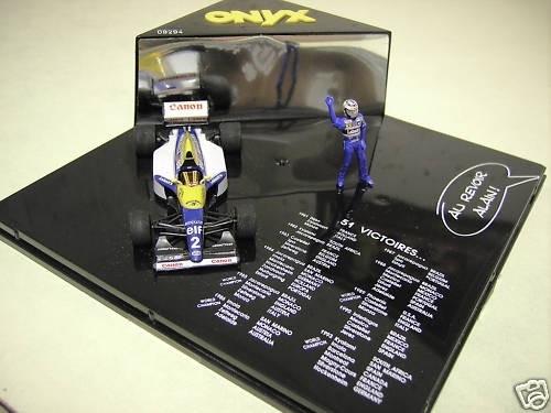 Williams Renault FW 15 Alain Prost 51 Wins - Onyx 1:43