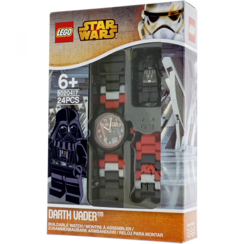 Lego 8020417 Star Wars Horloge Darth Vader