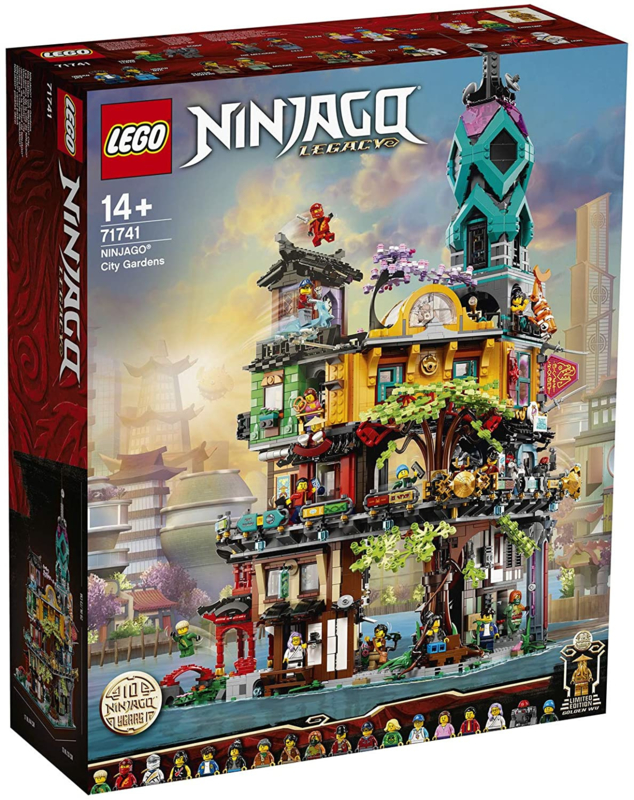 LEGO 71741 Stadstuinen - Lego Ninjago Legacy