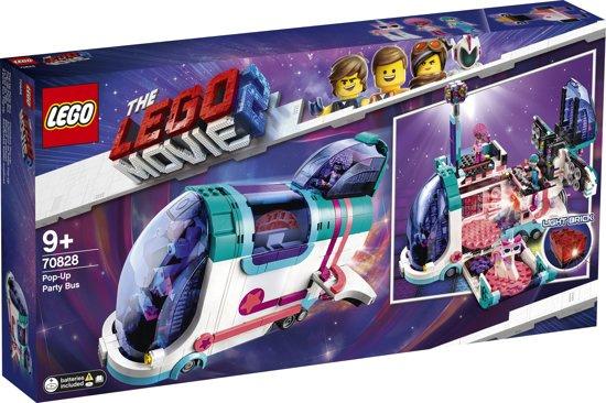 Lego 70828 - Uitklap Feestbus - Lego The Movie 2