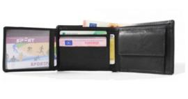 Leren portemonnee met RFID