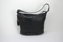 Leren schoudertas Bag2Bag