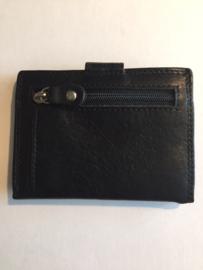 portemonnee klein zwart