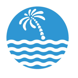 Sticker modern island