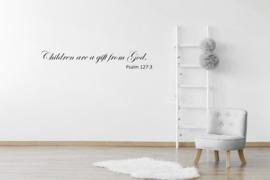 Sticker Children are  gift from God