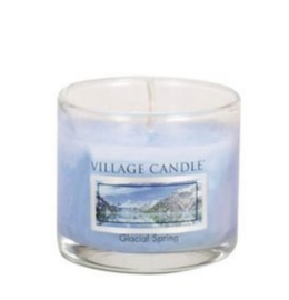 Village Candle Glacial Spring Fizz glass votive