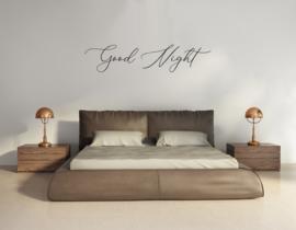 Muursticker - Good Night